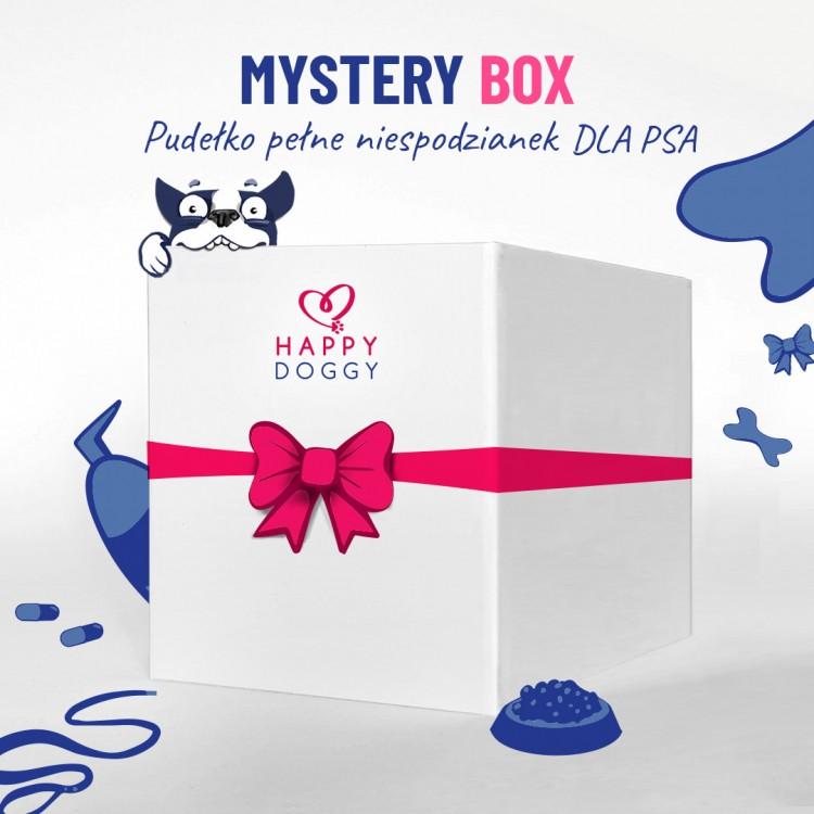MYSTERY BOX dla psa - pudełko pełne niespodzianek rozm. S